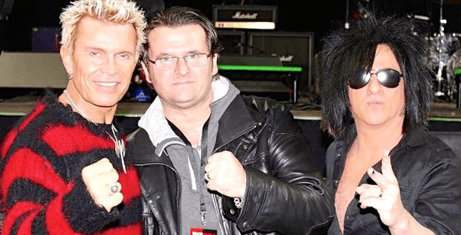 Billy Idol und Steve Stevens